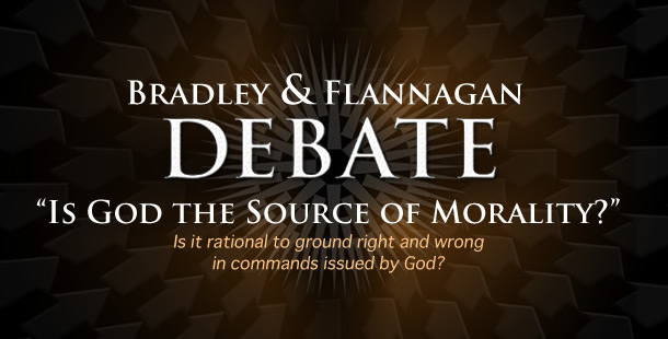 "Raymond Bradley v Matthew Flannagan ""Is God the Source of Morality"""