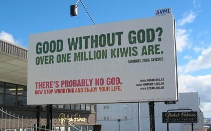 Good Without God? Over One Million Kiwis Are.