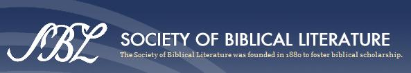 Society of Biblical Literature Annual Meeting