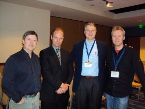 Doug Geivet, me, Paul Copan, Rodney Lake