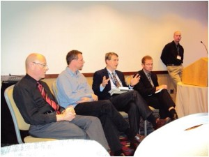 The EPS Session at the SBL: Richard Hess, Randal Rauser, Paul Copan, me, Michael Rea