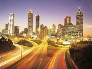Atlanta, Georgia - my home for the next 10 days