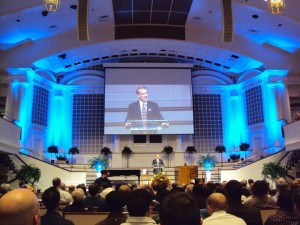 William Lane Craig presenting at the EPS