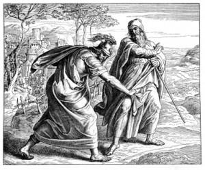 Samuel rebukes Saul