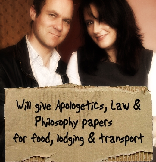 Will give Apologetics, Law and Philosophy papers for food, lodging & transport
