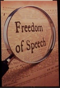 Freedom of Speech