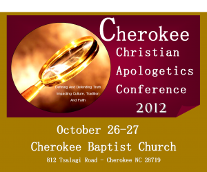 Cherokee Christian Apologetics Conference