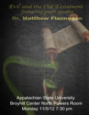 Speaking at Appalachian State University