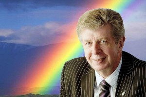 "Maurice Williamson and his ""big gay rainbow"""